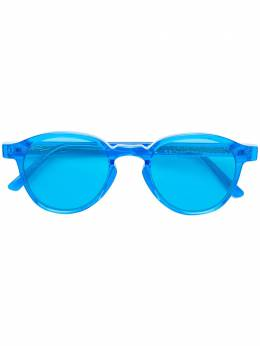 Retrosuperfuture солнцезащитные очки 'Andy Warhol The Iconic Series Fluo Blue' BYS