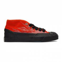 Converse Red A$AP Nast Edition Jack Purcell Chukka Sneakers JACK PURCELL CHUKKA M