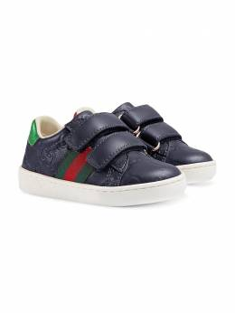Toddler Gucci Signature sneaker with Web Gucci Kids 455447DF720