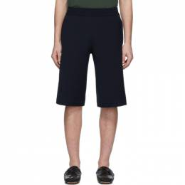 Bottega Veneta Navy Wide Shorts 601059 VKN20