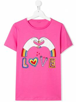 TEEN love hands T-shirt Stella McCartney Kids 588684SOJ06