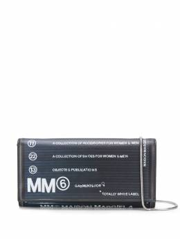 MM6 Maison Margiela collection number printed wallet on a chain S54UI0063PR184