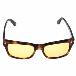 Tom Ford Light Brown Tortoise Frederik Square Sunglasses