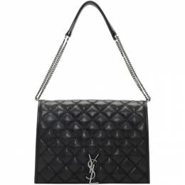Saint Laurent	 Black Large Becky Bag 579604 1D313
