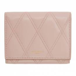 Givenchy Pink GV3 Trifold Wallet BB608UB08Z