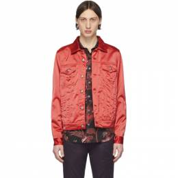 Paul Smith Red Satin Chore Jacket M1R-568T-A00980