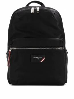 Bally logo patch backpack 6226246