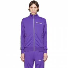 Palm Angels Purple Classic Track Jacket PMBD001R203840019501