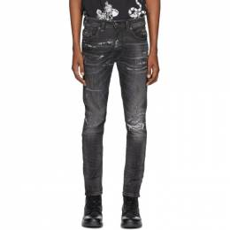Diesel Black Denim Thommer 0098E Jeans 00SE3D 0098E