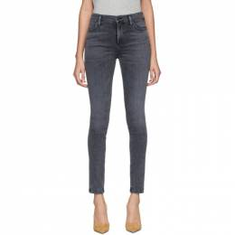 Citizens of Humanity Black Rocket Mid-Rise Skinny Jeans 1416-1148