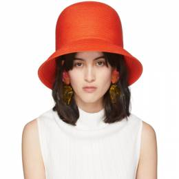 Nina Ricci Orange High Hat 20PAA0039SYN006