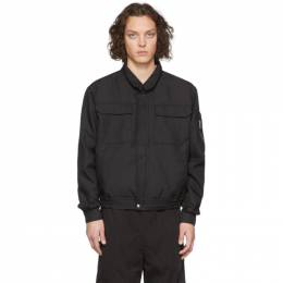 Black Japanese Workwear Harrington Jacket Random Identities SW-14