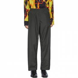 Our Legacy Black Check Reduced Trousers M1204RCH