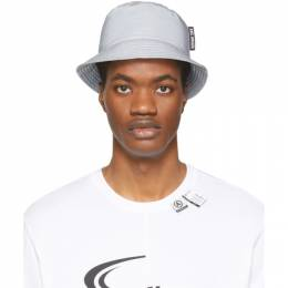 Axel Arigato Silver Reflective Sterling Bucket Hat 11056