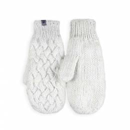 Варежки The North Face Cable Knit Mitt White