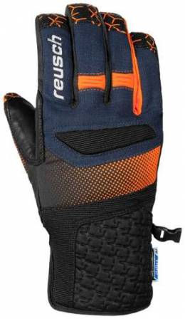 Перчатки 18-19 Stuart R-Tex XT Dress Blue/Orange Popsicle Reusch