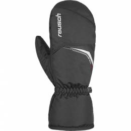 Варежки 18-19 Snow King Mitten Black/White Reusch