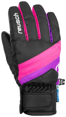 Перчатки 18-19 Dario R-Tex XT Junior Black/Pink Glo Reusch