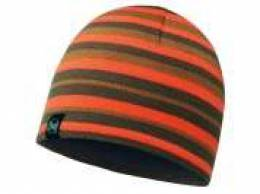 Шапка Buff Knitted&Polar Hat Lakistripes Fossil