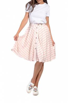 Skirt Kabelle KB194_PINK_STRIPES