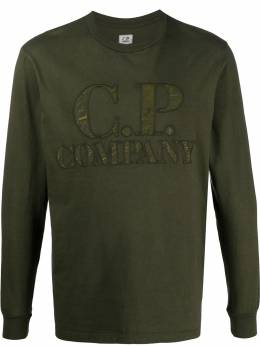 Cp Company long sleeve logo patch top 08CMTS326A005697G