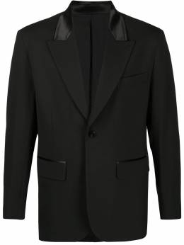 single breasted fitted blazer Ernest W. Baker BL15