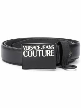 Versace Jeans Couture logo plaque belt D8YVBF3471450