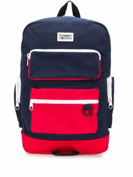 Tommy Hilfiger colour blocked backpack AM0AM05542