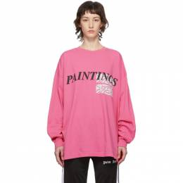 Pink Paintings New Body Long Sleeve T-Shirt Some Ware SW108
