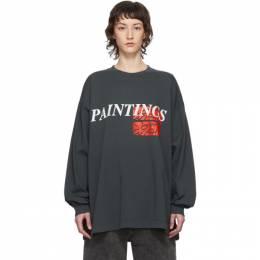 Grey Paintings New Body Long Sleeve T-Shirt Some Ware SW108