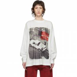 White Personal Space New Body Long Sleeve T-Shirt Some Ware SW102