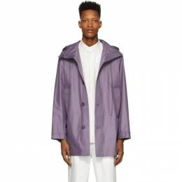 3.1 Phillip Lim Purple Chintz Poplin Lightweight Parka S201-6918CTZM