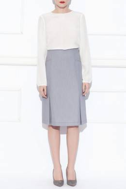 skirt Nissa F8256_GREY