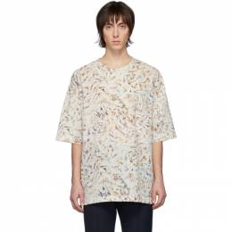 Lemaire Multicolor Half-Sleeve T-Shirt M 201 TO123 LF436