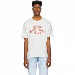 White Arch Gothic Classic T-Shirt Stolen Girlfriends Club C4-19T001WJ
