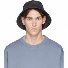 Navy Denim Bucket Hat Jil Sanderand JPUQ590371_MQ246700