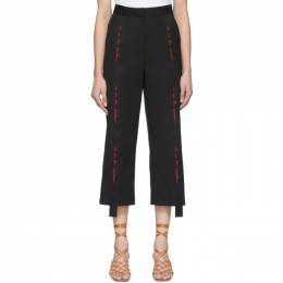 Stella Mccartney	 Black We Are The Weather Tailored Trousers 600496SFB18