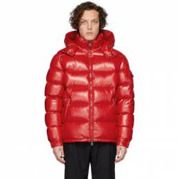 Moncler Red Down Maya Jacket 40366 - 05 - 68950