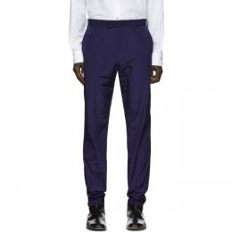 Paul Smith Navy Ripstop Trousers M1R-926T-A01038