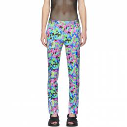 Dries Van Noten Multicolor Floral Trousers 20911-9196-500