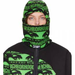 Black and Green Neighborhood Edition Balaclava Perks and Mini 192MBPMN-HT01S