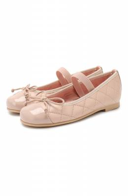 Кожаные балетки Pretty Ballerinas	 48.405/SHADE/C0T0N