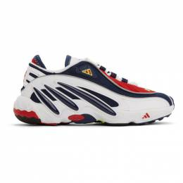 Adidas Originals White and Navy FYW 98 Sneakers FV3910