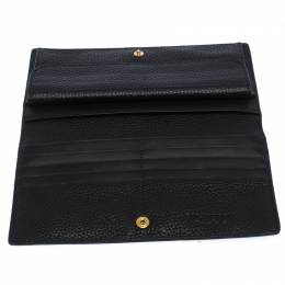Burberry Black Leather Hastings Bifold Wallet 260352