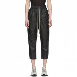 Rick Owens Black Cropped Astaire Trousers RP20S1303 MB