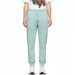 Dries Van Noten Green French Terry Lounge Pants 21168-9611-608