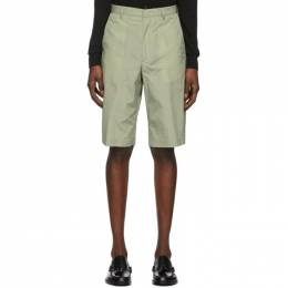 Paul Smith Green Oversize Show Shorts M1R-992T-A01038