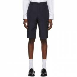 Paul Smith Navy Oversized Ripstop Shorts M1R-992T-A01038