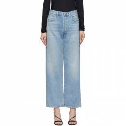 Citizens of Humanity Blue Joanna Relaxed Vintage Jeans 1837B-991