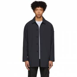 Stone Island Navy Ghost Mac Coat 7215709F1